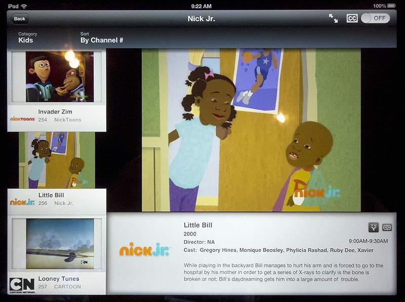 FiOS TV on iPad