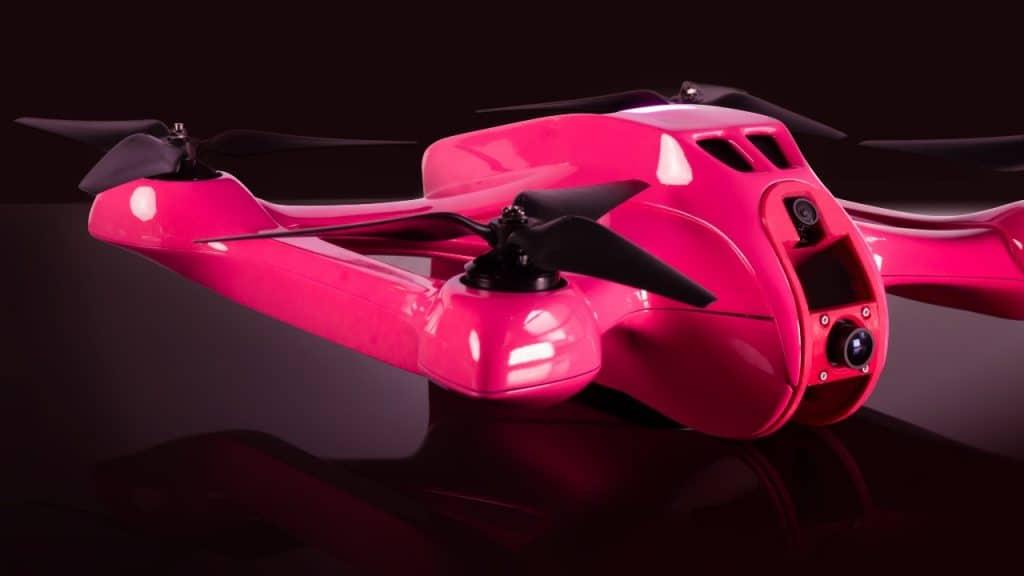 5G drone image