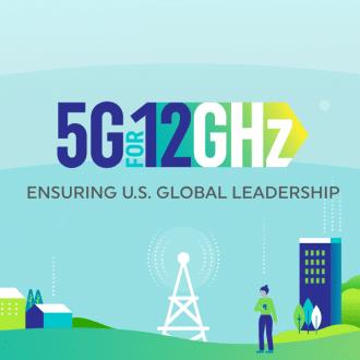 5g for 12GHz coalition logo