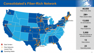 consolidated network map