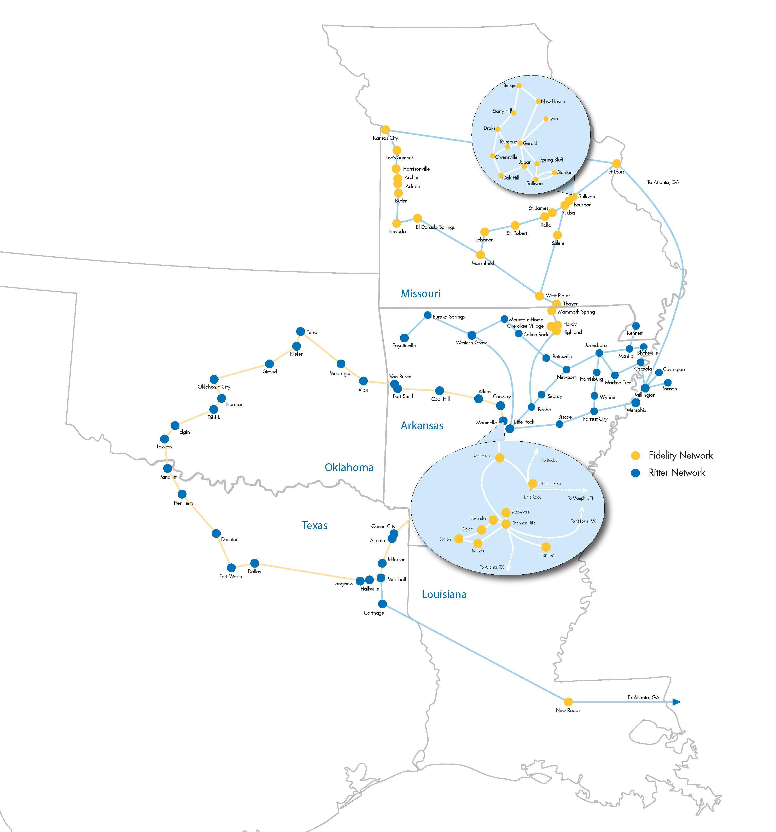 network maps usa longhaul tele ramblings 40 maps that explain
