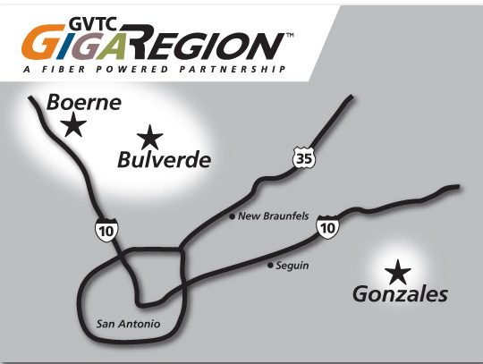 GVTC Gigareach Map