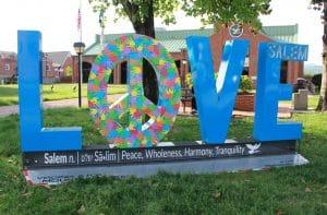Salem Virginia Love SIgn