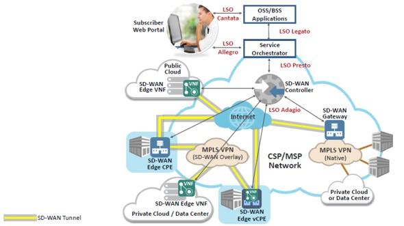 MEF SD-WAN open APIs