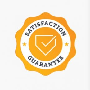 WE Staisfaction Guarantee shield