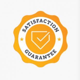 WE Staisfaction Guarantee shield