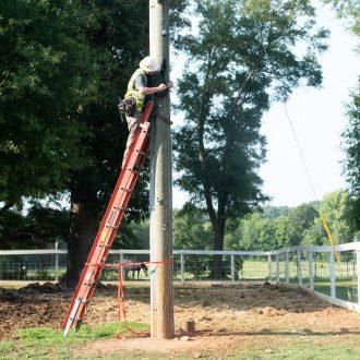 YEC Tech Install Pole