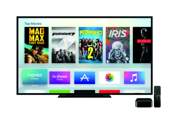 Apple TV User Interface (Source: Apple)
