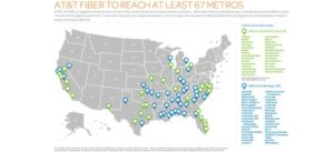 AT&T Gigabit footprint