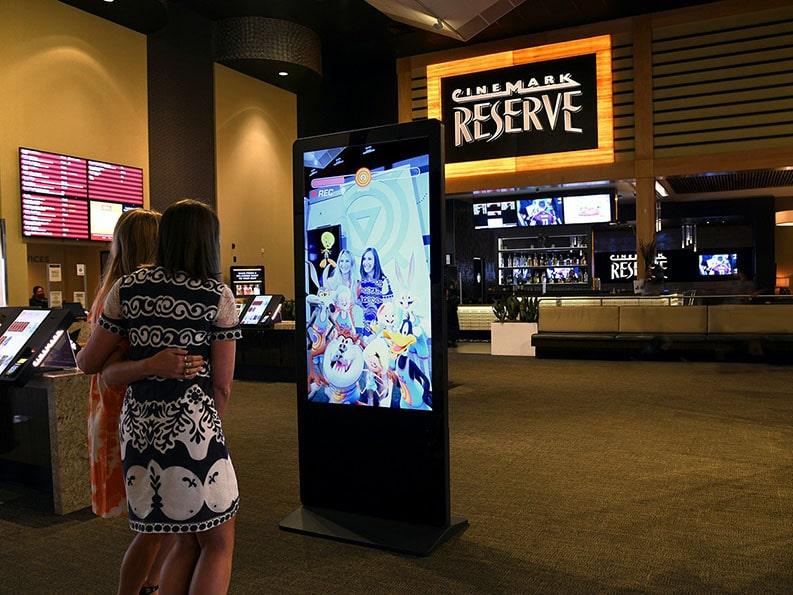 at&t AR kiosk