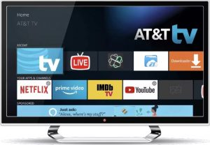 AT&T TV Interface (Source: AT&T)