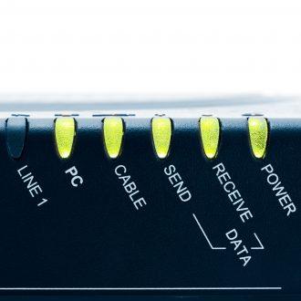 Cable Modem front