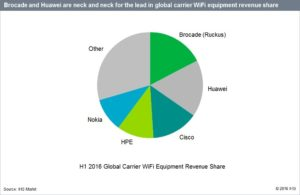 Carrier WiFi Equipment Revenue Growth