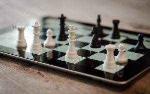chess on an ipad