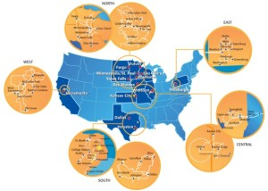 Consolidated Communications Footprint