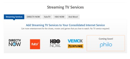 Consolidated streaming OTT