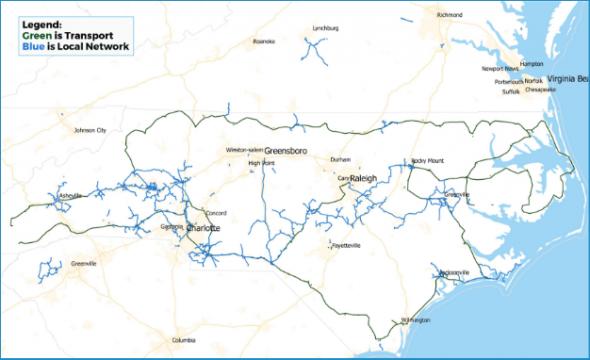 conterra network map