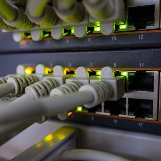 internet data rack