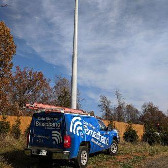 data stream broadband truck