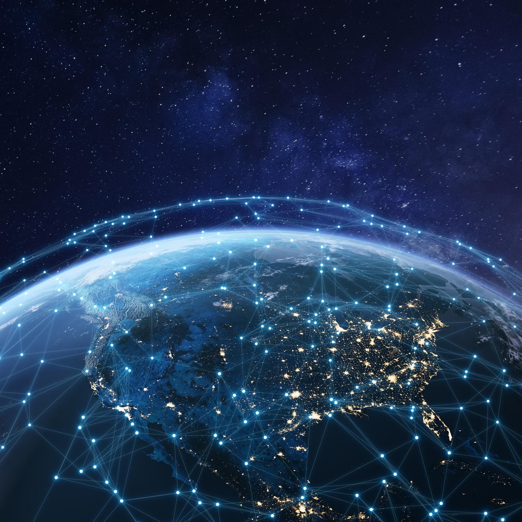 digital earth map