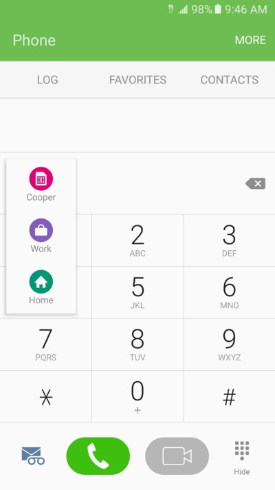 tmobile digits on competitor phones