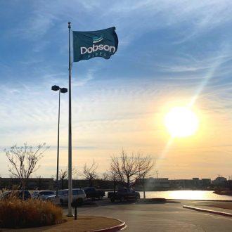 dobson fiber flag