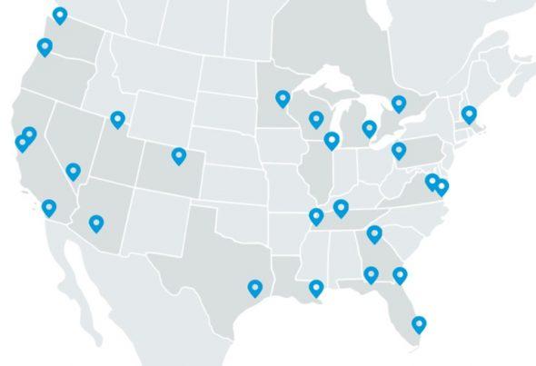 edgeconnex data centers map