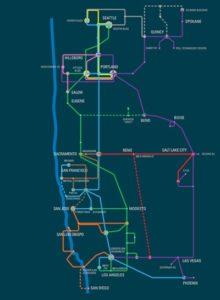 electric lightwave metro network map