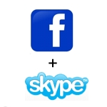 Image for Facebook and Skype Talking Convergence