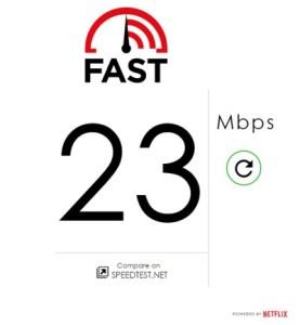 Netflix Speed Test