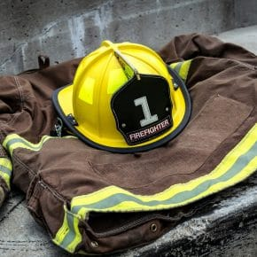 First responder firefighter