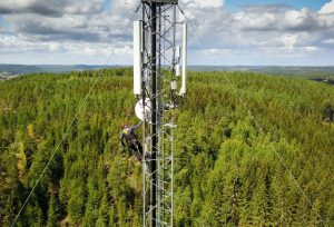 fixed wireless tower