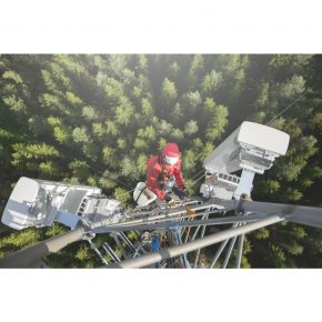 fixed wireless tower climber
