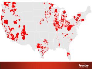 frontier network map