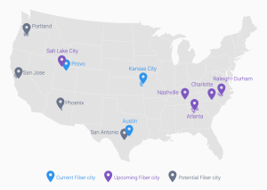 google fiber footprint