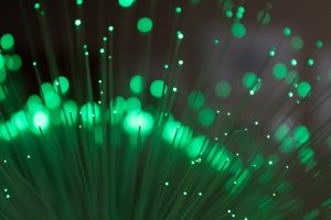 green fiber optics