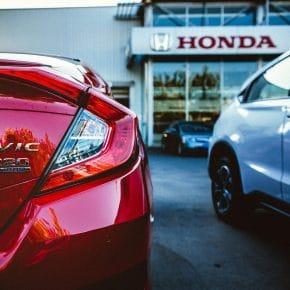 Honda Store Front