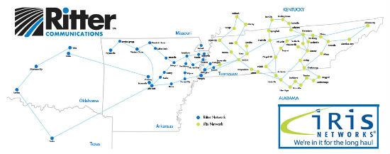 Ritter-iRis Network Map