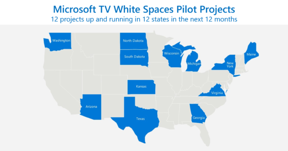 Microsoft Rural Airband Project