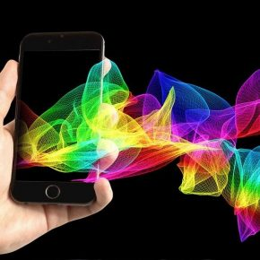 mobile spectrum to a smartphone