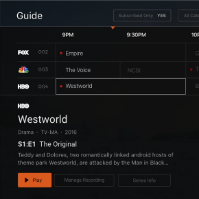 mobitv interface