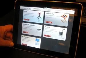 Motorola EDGE screenshot on iPad