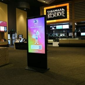 AT&T and Cinemark movie theatre experience