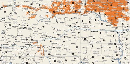 Nemont Wireless Coverage Area