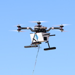 Image for Drone Saves the Day in Difficult Electric Cooperative Broadband Installation