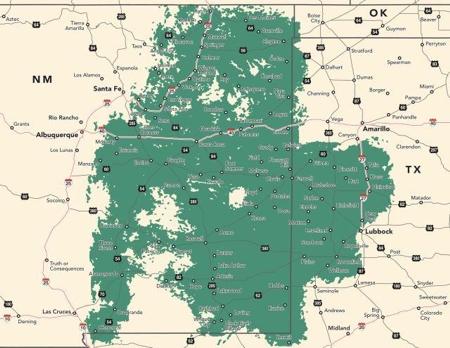 Plateau Wireless Network Map