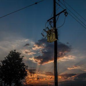 power line pole