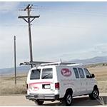 rise broadband truck