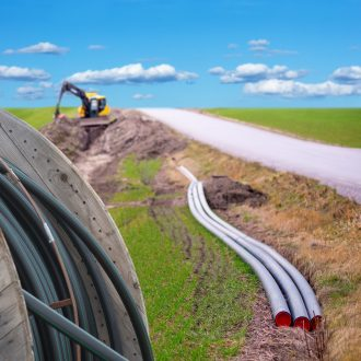digging ditches for broadband