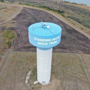 Tower in Sioux Tribe